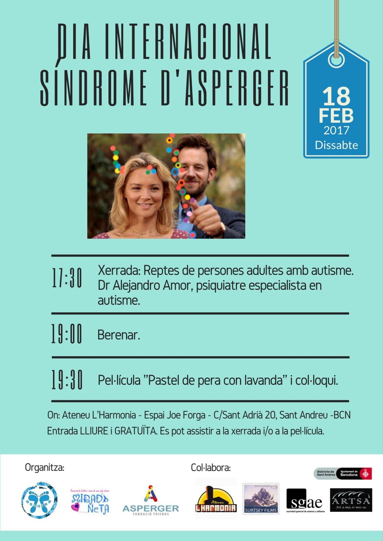 El 18 de febrer Dia Internacional de la Síndrome d'Asperger